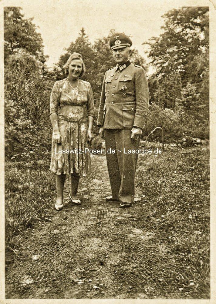 Gerda und Kurt August Lehmann auf Priebisch/Przybyszewo